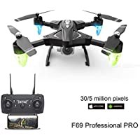 F69 Drone Discovery 2 WiFi FPV RC Quadcopter with 1080P HD Camera Helicopters VR Video 1080 Battery Kid Aircraft Toy Gift