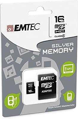 Tarjeta de memoria 16 GB para Nikon D610 - Micro SD clase 4 + ...