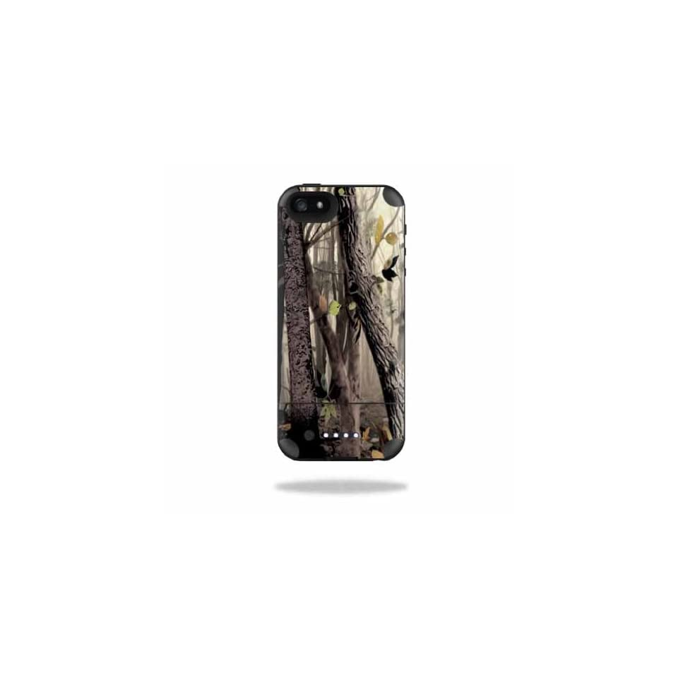 Mightyskins Protective Vinyl Skin Decal Cover for Mophie Juice Pack Air iPhone SE/5s/5 Apple iPhone SE/5s/5 Battery Case wrap sticker skins Tree Camo