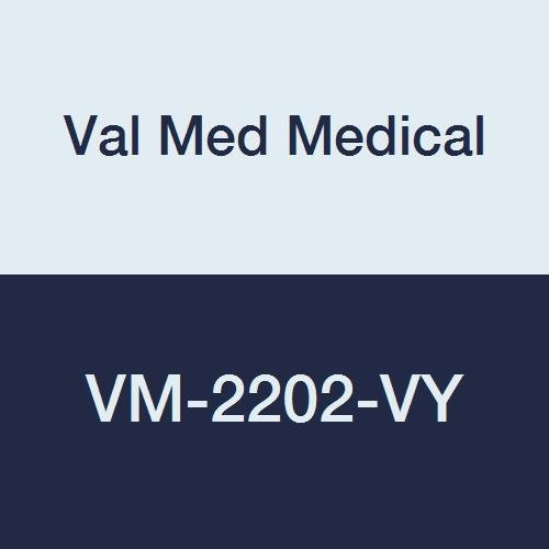 Val Med Medical VM-2202-VY Comfort Plus Terry Cloth Bib, Velcro Closure, 18'' Width, 30'' Length, Yellow (Pack of 60)