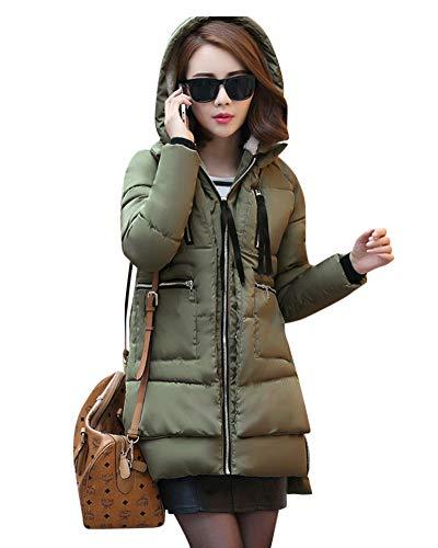 Hiver De Coton Loisirs Chaleur Taille Grande Manteau Femme Et 1ZtwnxZ