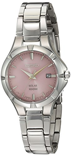 Seiko Women s Japanese Quartz Stainless Steel Watch, Color Silver-Toned Model SUT315