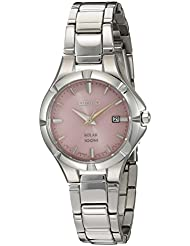 Seiko Womens Japanese Quartz Stainless Steel Watch, Color:Silver-Toned (Model: SUT315)
