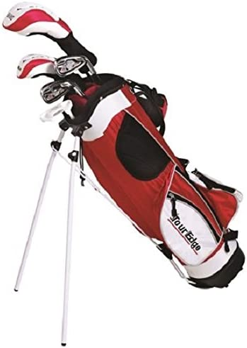 Tour Edge HT Max-J Set Junior s, Ages 9-12, 5 Club Set, Right Handed, with Bag