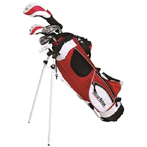 Tour Edge HT Max-J Set (Junior's, Ages 9-12, 5 Club Set, Right Handed, with (Graphite Junior Golf Club)