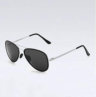 Gquan Gafas Protectoras Los Hombres y Las Mujeres Gafas Anti-UV de conducción Gafas al Aire Libre Deportes Gafas Gafas de Sol polarizadas Ultravioleta S