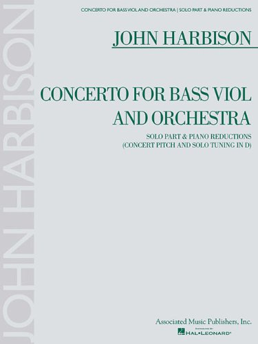 Bass Classical Amps - Concerto for Bass Viol: for Double Bass & Piano Reduction