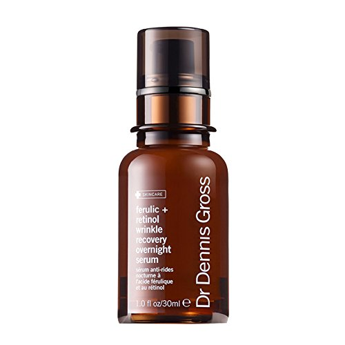 Dr. Dennis Gross Ferulic Plus Retinol Wrinkle Recovery Overnight Serum, 1 Fluid Ounce