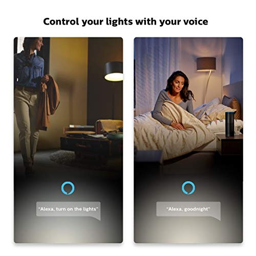 Echo Dot (3rd Gen) - Charcoal with Philips Hue White Smart Light Bulb Starter Kit (All US Residents) by Amazon (Image #7)