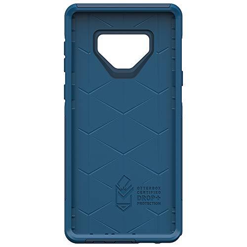 OtterBox COMMUTER SERIES Case for Samsung Galaxy Note9 - Retail Packaging - BESPOKE WAY (BLAZER BLUE/STORMY SEAS BLUE)