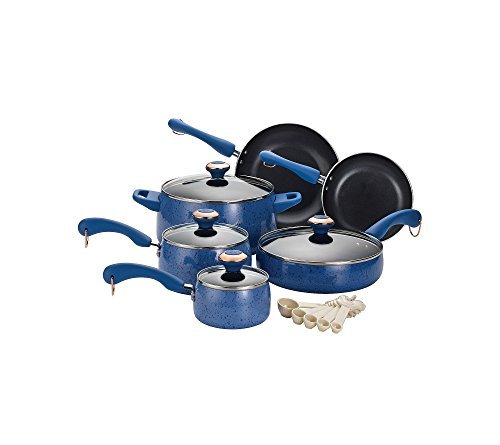 Paula-Deen-Signature-Nonstick-15-Piece-Porcelain-Cookware-Set