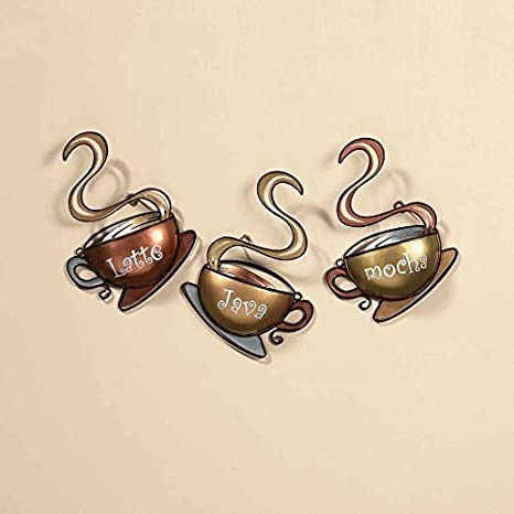 """Mocha Java Coffee Cup Kitchen Framed Art Print Wall Home Décor Picture 6/"""" New"""