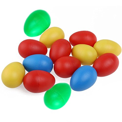 Egg Shakers Hand Percussion Kids Baby Early Learning Educational Music Toys