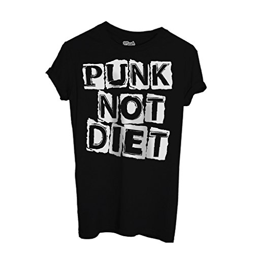 T-Shirt Punk Not Diet - MUSIK by Mush Dress Your Style