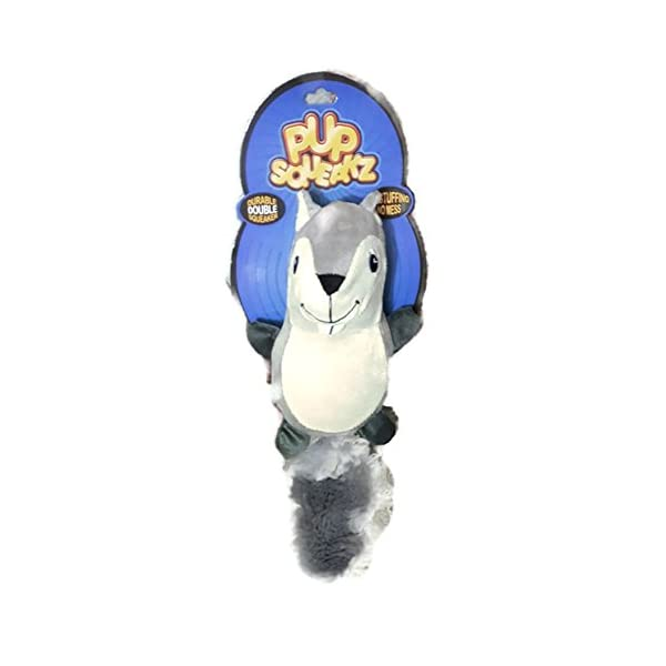 Pup Squeakz Beaver Dog Toy 1