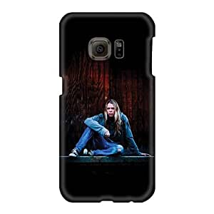 AlissaDubois Samsung Galaxy S6 Shock Absorbent Hard Cell-phone Case Unique Design Attractive Apocalyptica Band Pictures [Wga1186pWrP]