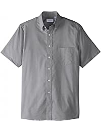 Van Heusen Men's Short-Sleeve Oxford Dress Shirt