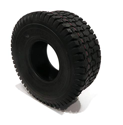 Set of 2 16×6.50-8 16-6.50-8 Turf Tires 4 Ply Tubeless Garden Tractor Lawn mower