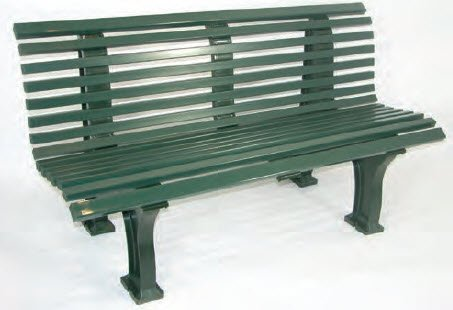 Har-Tru Tennis, Bocce, Golf Court Accessories - Benches - Deluxe Courtsider Court Bench - -