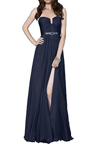 DressyMe Vestido - trapecio - para mujer Azul azul marino 58