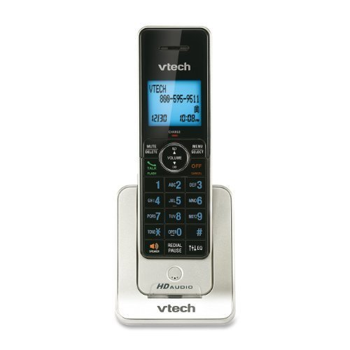 VTech LS6405 Accessory Handset for VTech LS6425 and LS6475, Silver Style: Accessory Handset, Model:LS6405, Office Accessories & Supply Shop