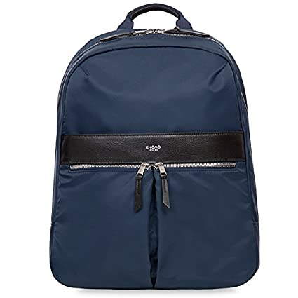 a2520d54d5 Knomo Beauchamp Backpack for 14-Inch Laptop - Navy  Amazon.co.uk  Computers    Accessories