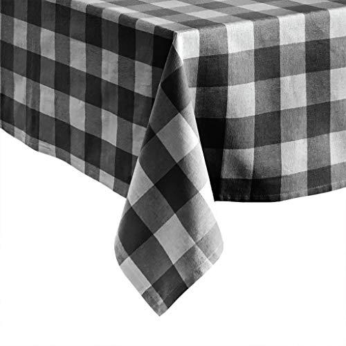 Elrene Home Fashions Farmhouse Living Buffalo Check Tablecloth, 60
