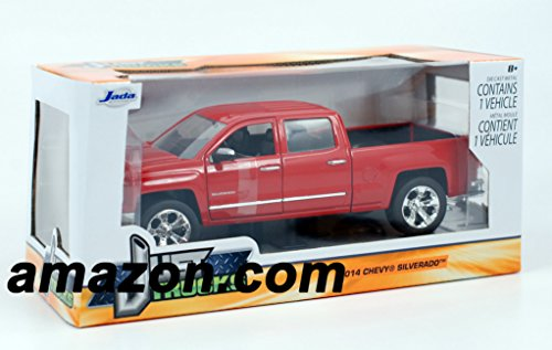Jada 2014 Chevy Silverado Pickup Truck 1/24 Scale Diecast Model Vehicle ()