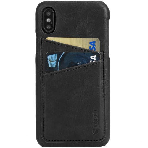 Krusell Wallet Case for Apple iPhone 6/6S/7/8 - Vintage Black