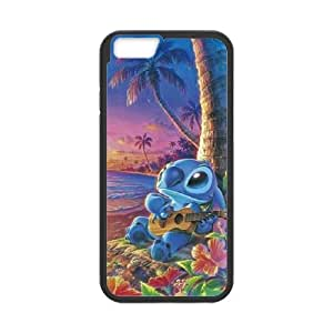 Lilo With Stitch Iphone 6 4.7 Inch Cell Phone Case Black DAVID-337446