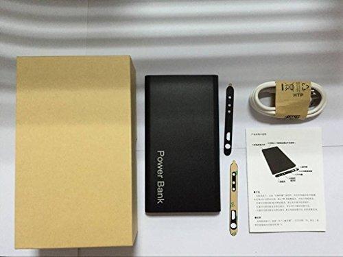 Novelt'y 1280*960 Mobile Power Bank Hidden Camera Spy Video Camera Night Vision HD 5000mah Power Bank DVR Camcorder DV Spy Camera (Black Color)