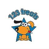 "123 Treats | Rawhide Bones Chews 3-4"" | Premium"