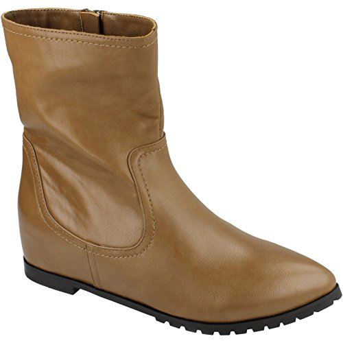 Spot On Damen Stiefel (39 EU) (Taupe)