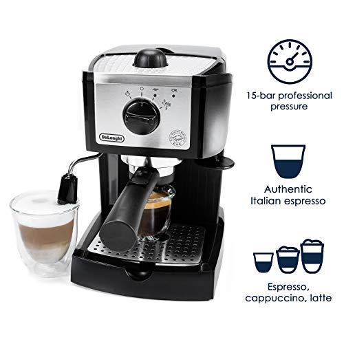 Amazon.com: DeLonghi EC155 15 BAR Pump Espresso and Cappuccino Maker (4-(Pack)): Kitchen & Dining