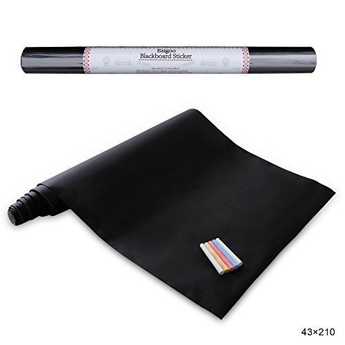 143 opinioni per Ezigoo Carta Lavagna Adesiva- Adesivo Lavagna Rimovibile Memo da Parete- 43cm x