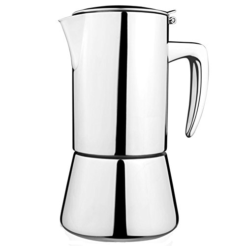 KCHAIN Stainless Steel Espresso Coffee Maker 200mL