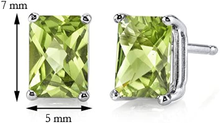 925 solid sterling silver 5mm Cubic Zirconia round stud earrings with free box