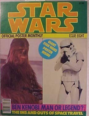 Official Wars Poster Star - Star Wars: Official Poster Monthly: Issue Eight: Ben Kenobi Man or Legend?
