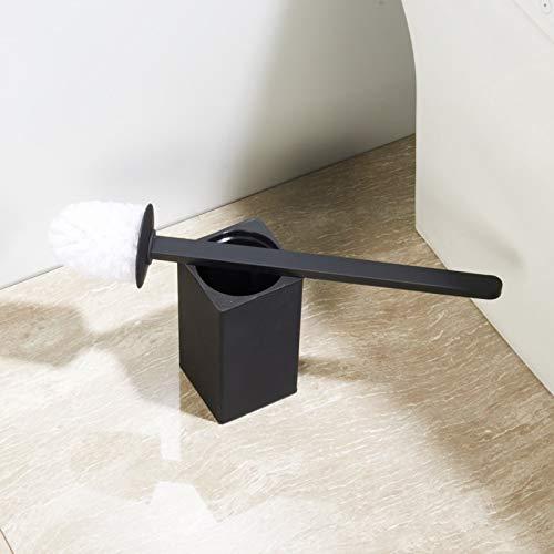 BGL 304 Porte-Brosse WC carr/é en Acier Inoxydable Noir Mat