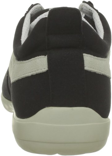 Superga 2885 Roma Matchrace New S002PS0 - Zapatillas de ante para hombre Black-White