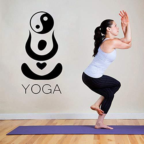 ONETOTOP Pegatinas de Pared de Yoga hindú Ying Yang ...