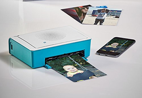 Hiti Digital Ameica Inc Smartphone Photo Printer - Turquoise