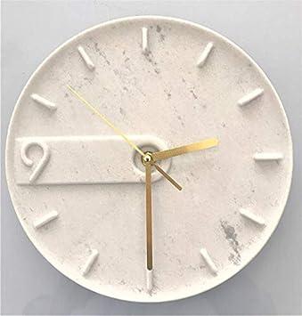 Amazon.com: UNITEDBM Wall Clock Nonticking Number Quartz ...
