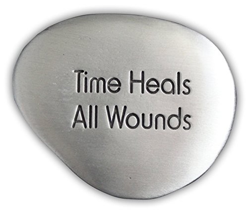Cathedral Art SS132 Time Heals All Wounds Soothing Stone, 1-1/2-Inch