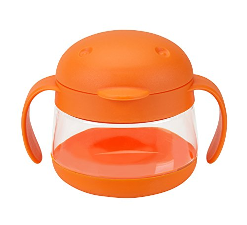 Ubbi Tweat Snack Container Orange