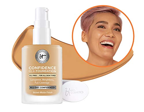 - IT Cosmetics Confidence in a Foundation, Tan Honey