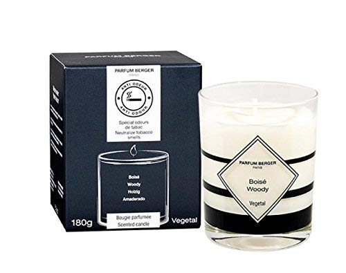 Parfum Berger/Lampe Berger Anti-Tobacco smell candle (10 x 10 x 10 cm, white glass B075F9XDSH