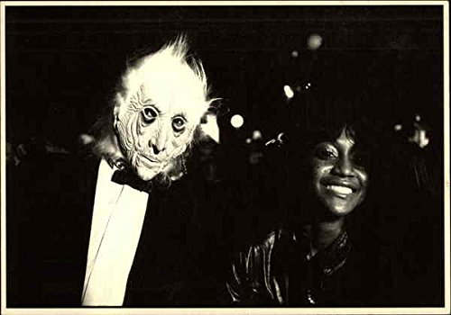 Halloween Parade, NYC Celebrities Original Vintage Postcard -
