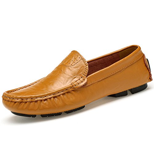 Mocassini Low Scarpe Slip On da Scarpe Loafers Penny Classic FZUU Guida Uomo Naturals Top da cwqYSxtF