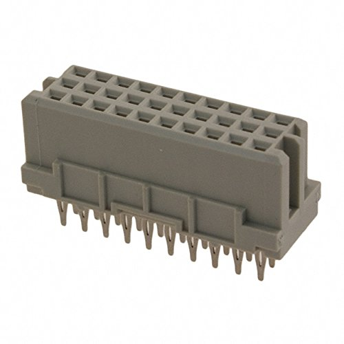Conn; Rect; DIN 41612 Series; Female; 30Conts; Straight; Press-in; Backplane; 2A HARTING 09252306870